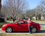 Deb's Red Car