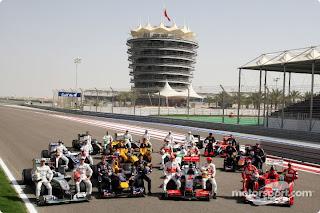 Formula1 2010, la temporada empezó en Bahrein. 1