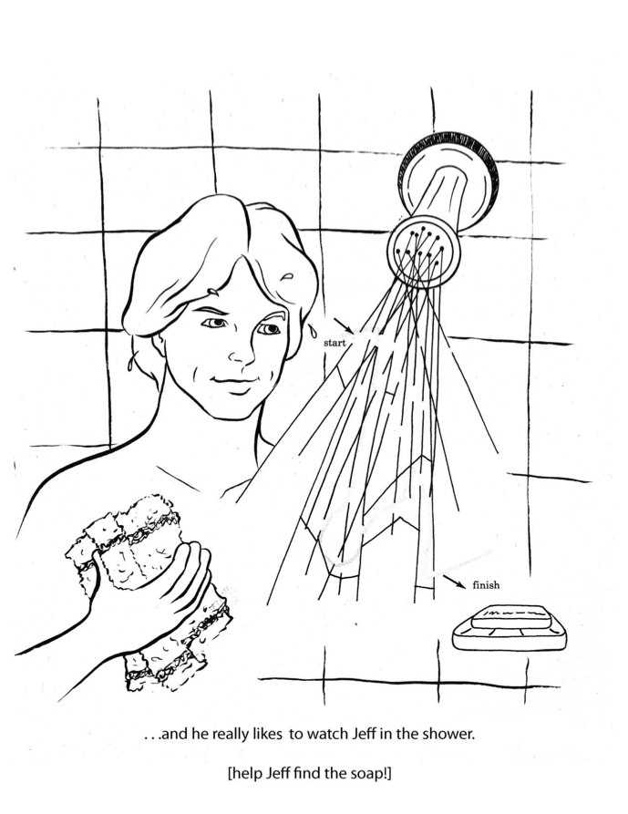 coloring pages of naked men - photo#5