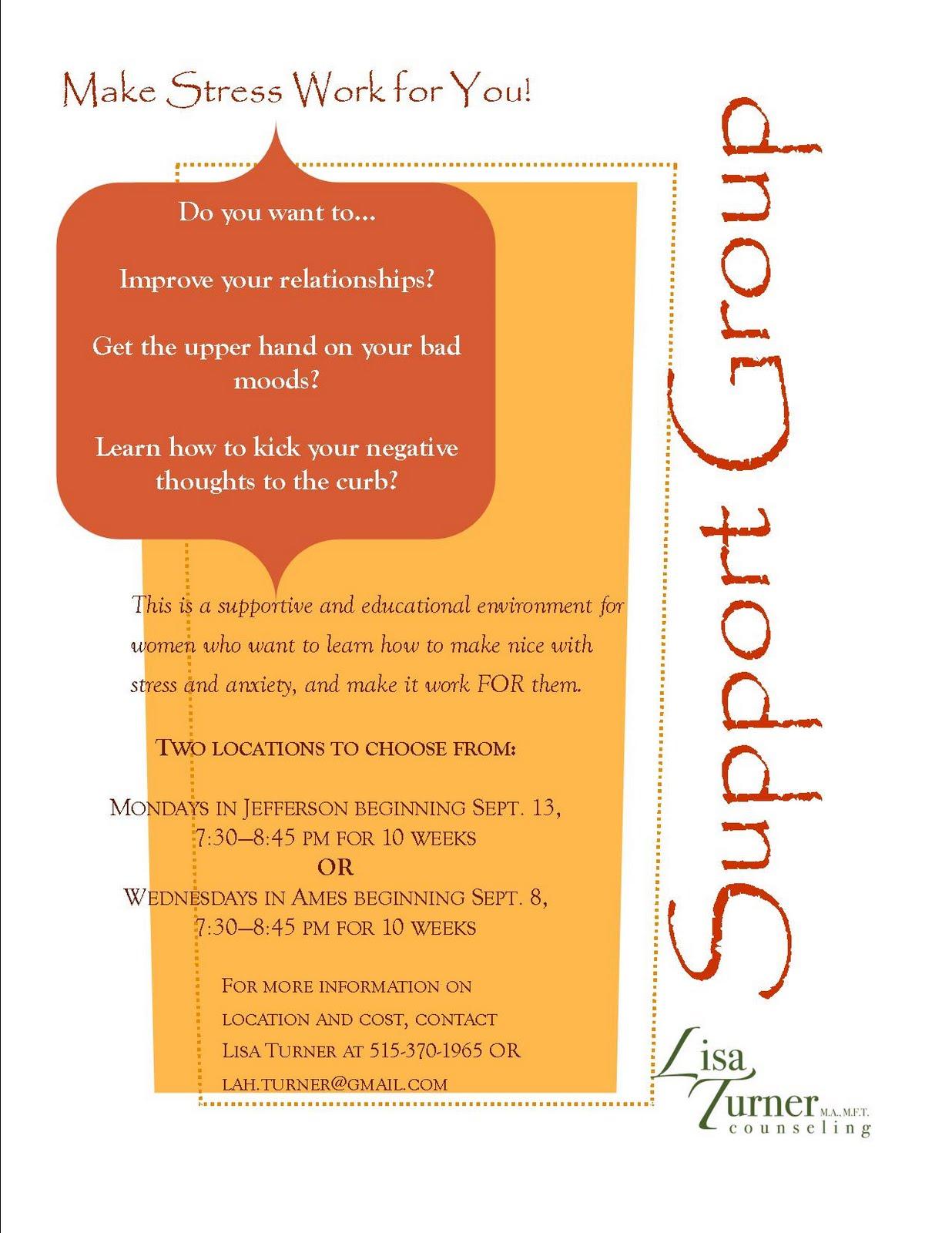 caregiver support group flyer template. Black Bedroom Furniture Sets. Home Design Ideas