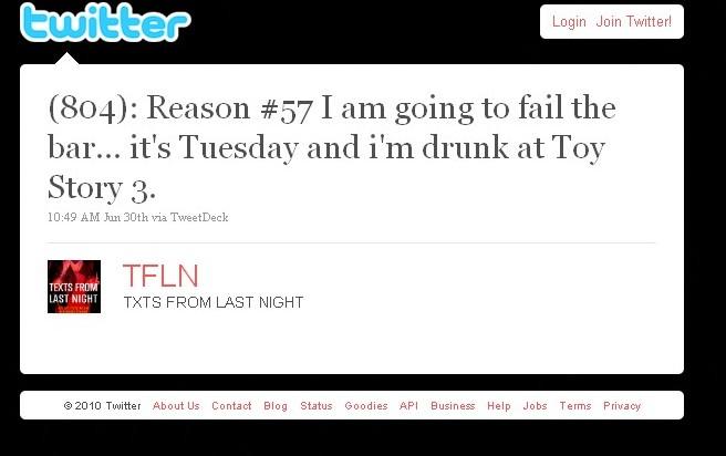 Bar Advisor: Funny Bar Exam Tweets, Part I