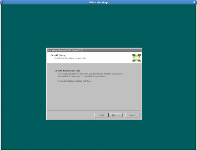 Cross Logbook: Wine Review: DirectX 9 0c on Linux with Wine