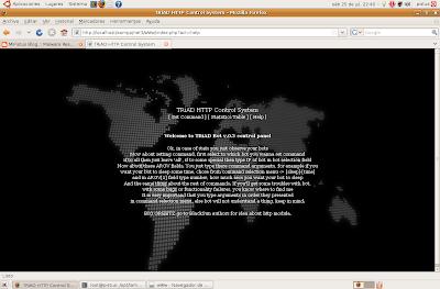 EvilFingers: TRiAD Botnet III  Remote administration of multi