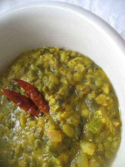 Creamy Mung Dal Curry