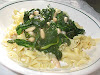 Sautéed Spinach and Cannellini Beans with Balsamic Vinegar