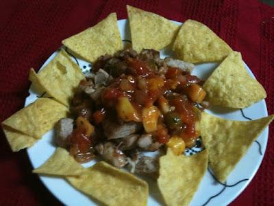 Blackened Ahi tacos, deconstructed. SalmonAtSeven.com