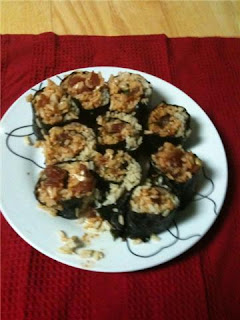 spicy tuna sushi, salmonatseven.com