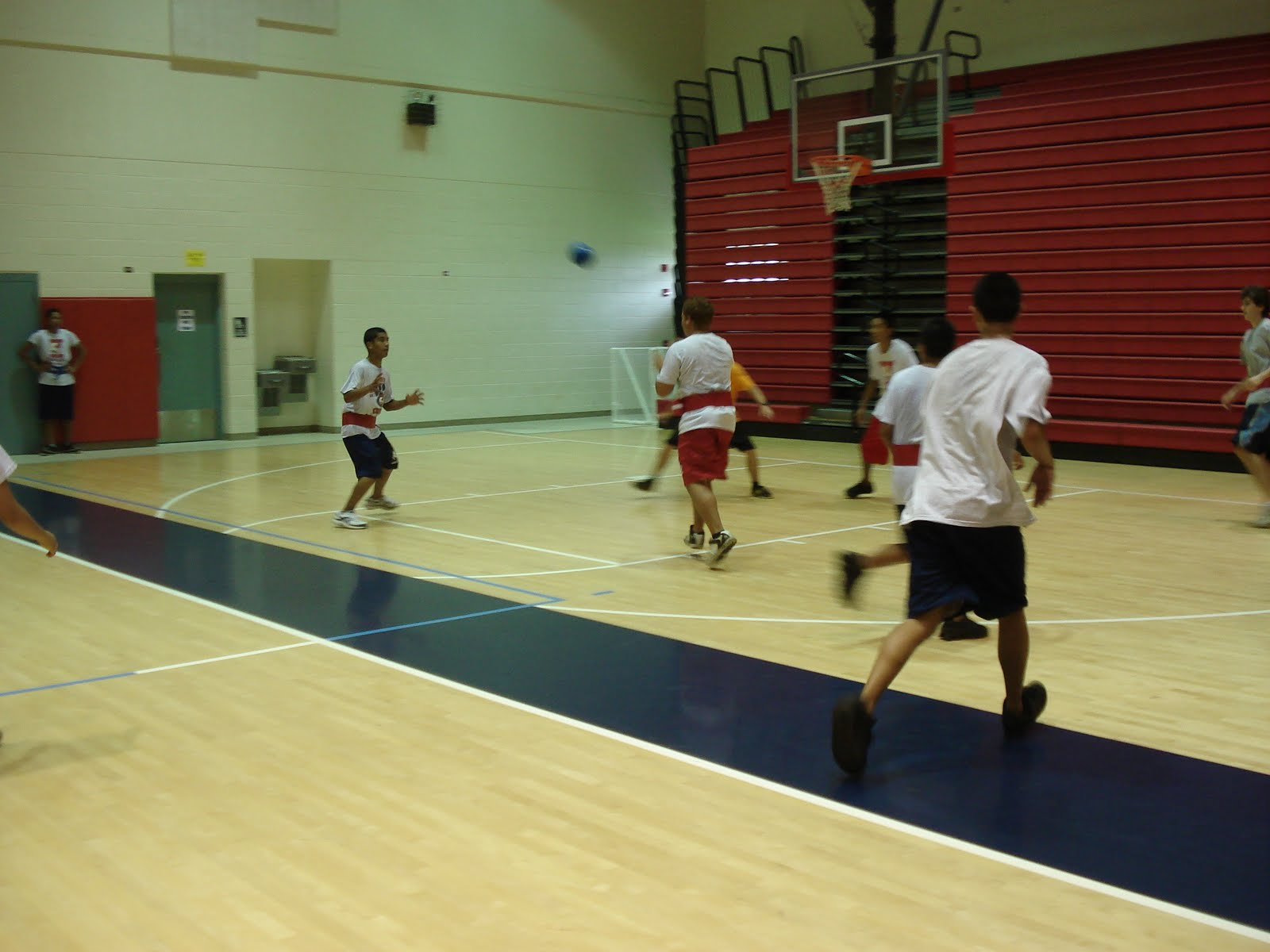 Kea Au High School Body Conditioning Class Speedball Action Period 5