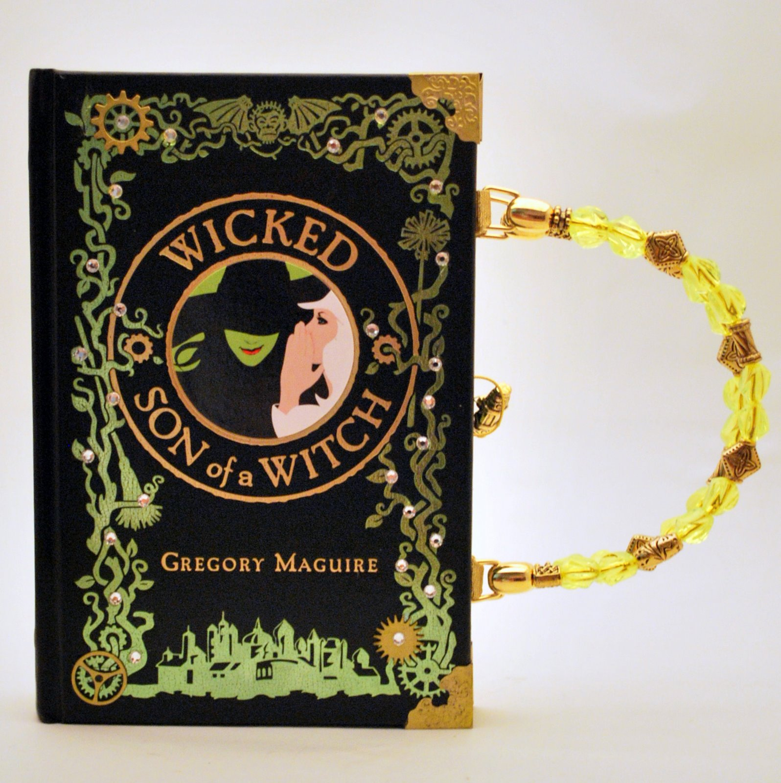 Wicked Libro Smartgirl Me Book Purses Wicked Son Of A Witch Smartgirl Purse