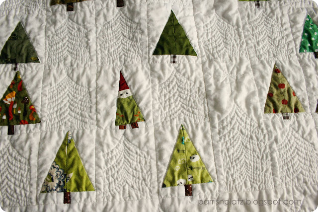 Parrish Platz: A Tree Quilt And Christmas Morning