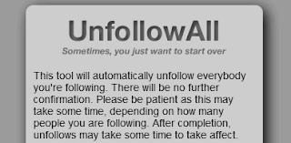 Unfollow all - Deixar seguir todos Twitter em minutos