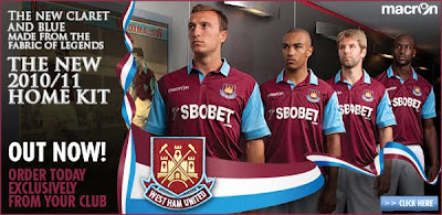 Scott Parker removed from the West Ham club shop, THBN
