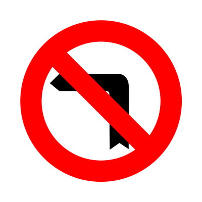 Image Gallery no left turn