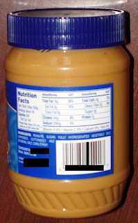 No holds barred peanut butter-- it does nothing halfway