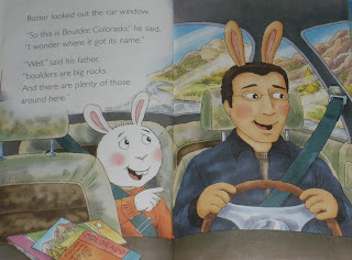 Buster's father hides a terrible truth under those fake bunny ears