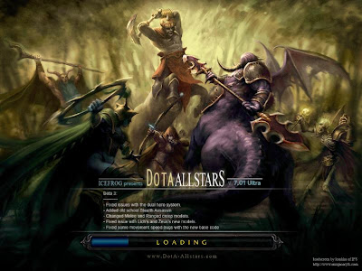 Dota-Allstars 7.01 April Fool Map Loading Screen