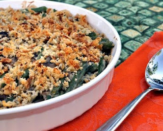 World's Best Green Bean Casserole ♥ AVeggieVenture.com