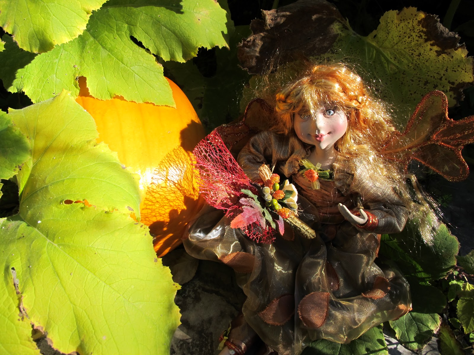 Fall Fairies In My Garden Tablescape Purple Chocolat Home