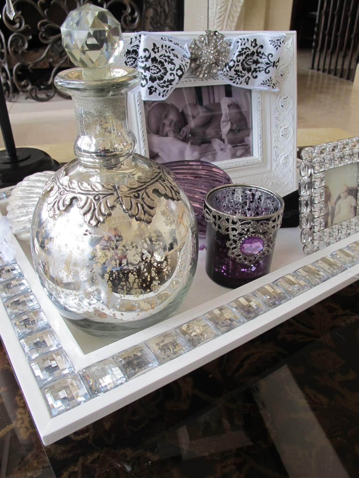 Frame It In Style Purple Chocolat Home