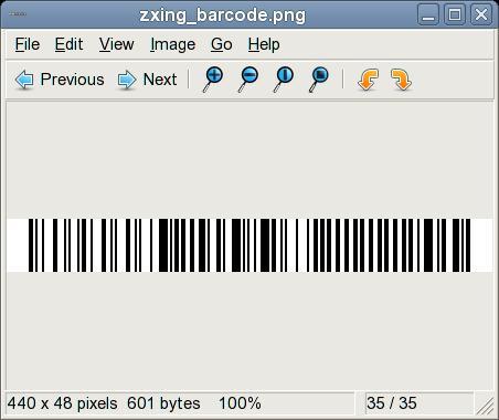 jcafe info: Hello World, Barcode in Java, using ZXing
