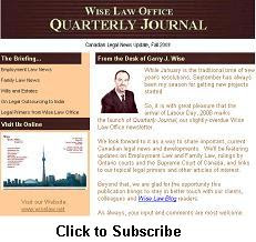 Wise Law Office Quarterly Journal