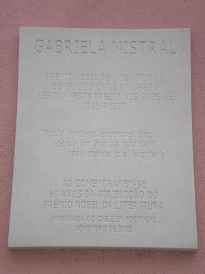 IÉ-IÉ: NESTA CASA: GABRIELA MISTRAL