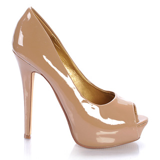 Nude Colored Pumps 70