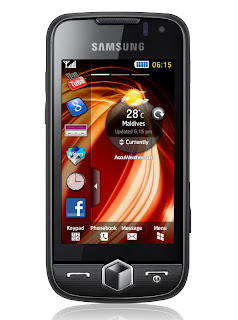 Samsung Jet S8000 Touch Screen Phone Overview Image