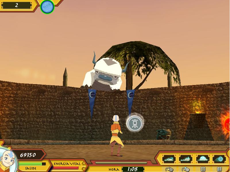 Avatar A Lenda De Aang Jogo Avatar The Legend Of Arena