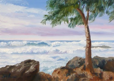 Hawaii North Shore oil painting