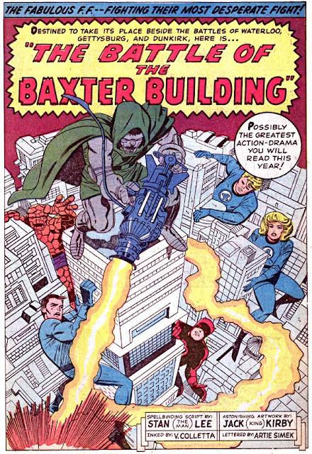 Fantastic Four by Stan Lee, Jack Kirby, Vince Colette, Artie Simek.