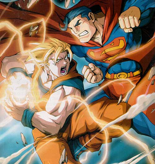 Wizard Magazine #133: Son Goku versus Superman