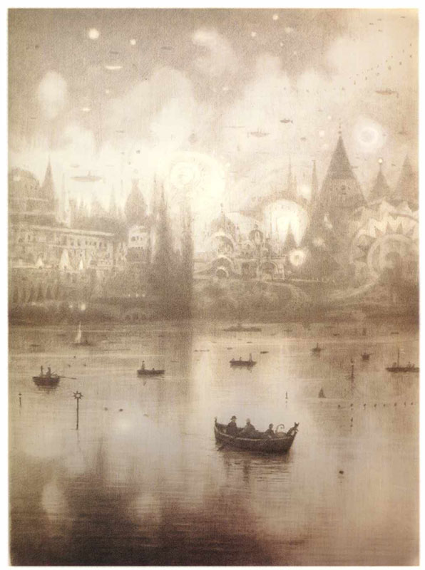 The Arrival by Shaun Tan.