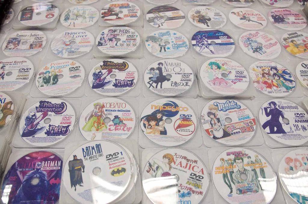 Anime Discs