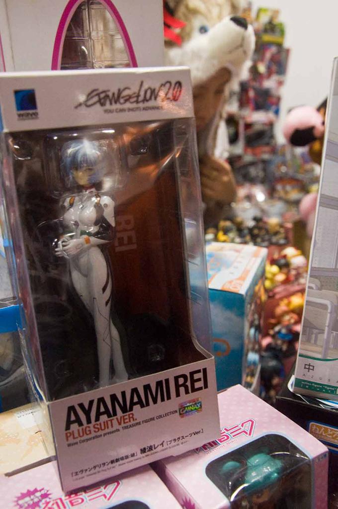 Neon Genesis Evangelion Rei Ayanami PVC Figures