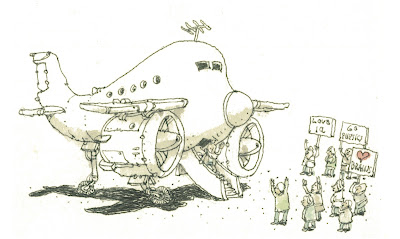 Nobel Price by Mattias Adolfsson