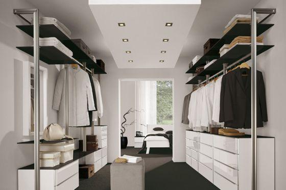 begehbarer_Kleiderschrank W ° wardrobe closet Pinterest - ideen begehbaren kleiderschrank
