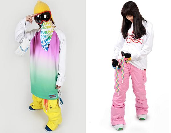 Snowboarding Korea Style Adventures In Fashion Illicit