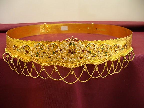 22carat Vaddanam Kammarpatta Waist Belt Designs