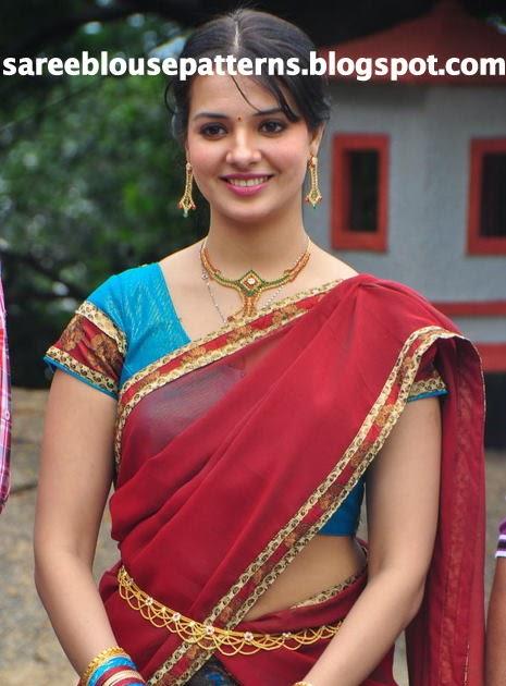 Saree Navneet Side View Kaur