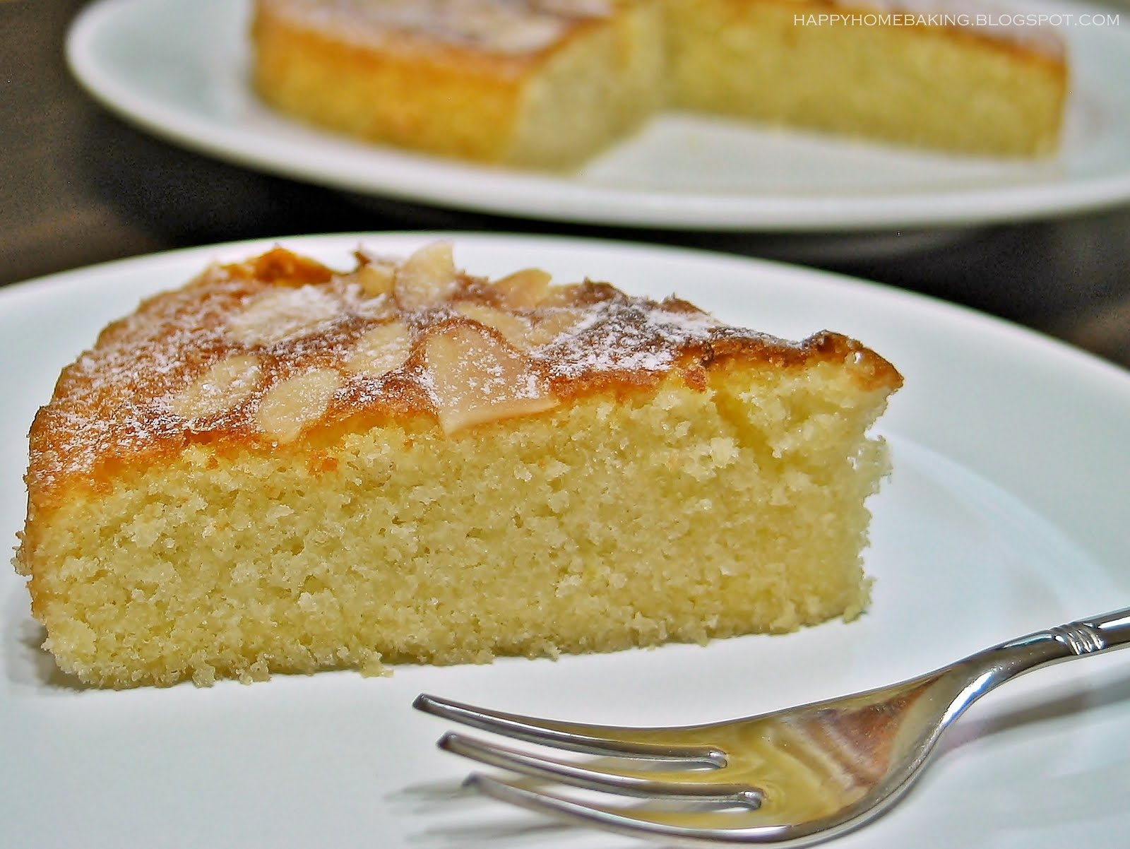 Almond Cake Recipe Apple