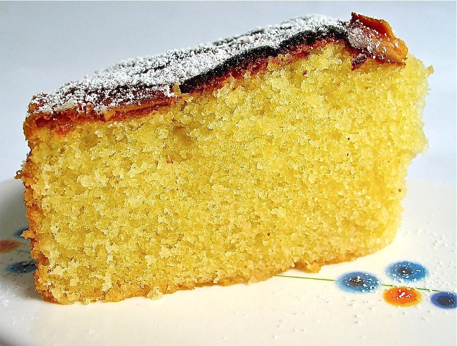 Light Almond Cake Recipe
