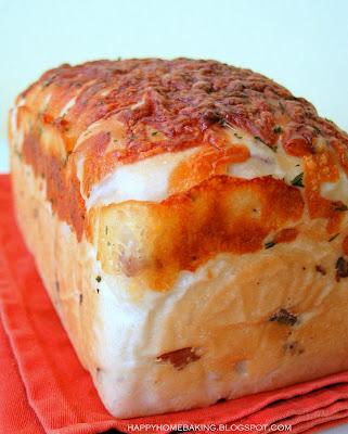 Happy Home Baking Bacon Cheese Bread