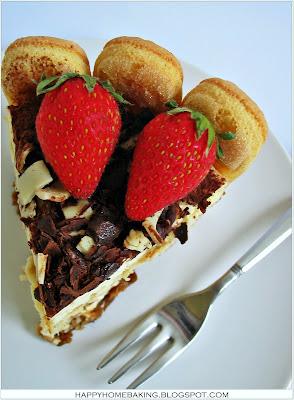 Homemade Tiramisu Birthday Cake