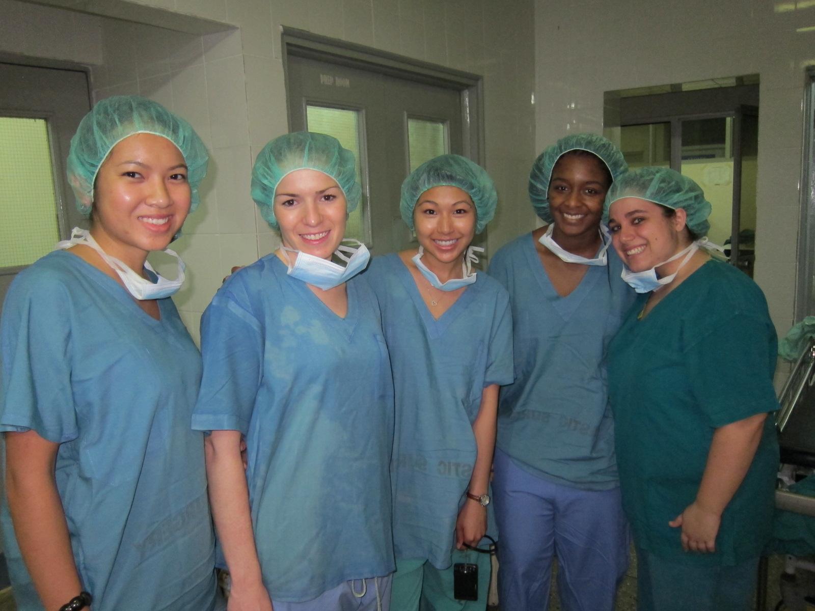 Femdom surgical cutting