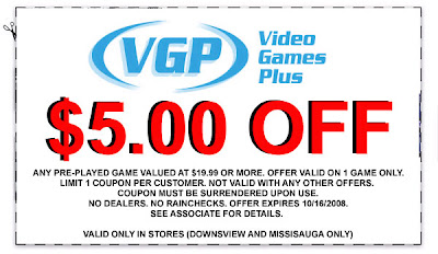 video games plus coupon