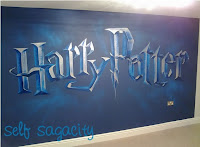 Harry Potter Bedroom Wall Mural