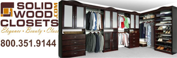 Closet Organizers Information and Tips by SolidWoodClosets.com