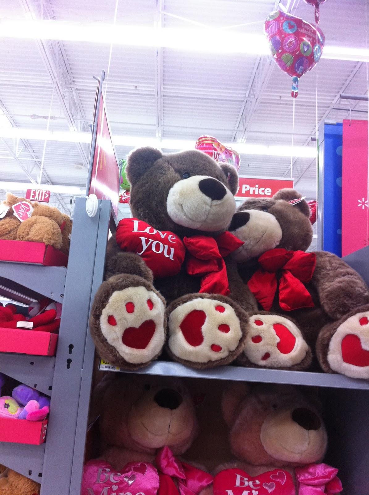 Walmart Big Teddy Bears Valentines Day