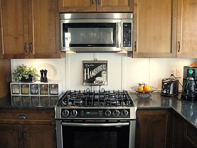 How to board and batten backsplash in a kitchen